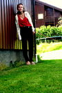 Beige-nelly-shoes-black-my-grandmothers-that-i-got-pants-red-trifted-top-w