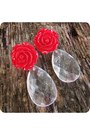 Red-handmade-earrings