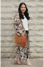 Brown-fringe-rag-stock-purse-honey-punch-cardigan-neutral-forever-21-blouse