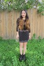 Black-thick-from-korea-boots-clear-forever-21-purse-black-forever-21-skirt
