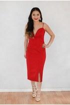 heart shape Charlotte Russe dress - sequin from Korea purse