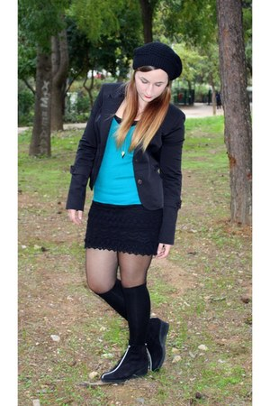 black Achilleas Accessories hat - black toi&moi jacket