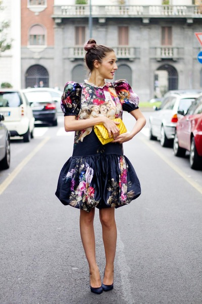 Dolce & Gabbana dress - Dolce & Gabbana bag