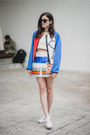 White-air-max-nike-shoes-blue-neoprene-fay-jacket-cream-knitted-suno-top