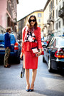 Coral-msgm-shirt-red-msgm-blouse-red-msgm-skirt