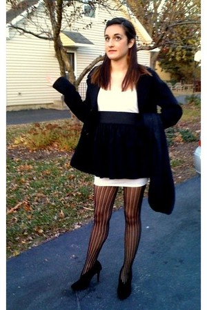Charlotte Russe shoes - Target tights - Kenneth Cole Reaction jacket - dress - C
