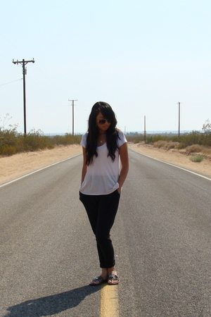 Forever21 shirt - Forever21 pants - abercrombie and fitch blouse - sam edelman s