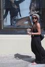 H-m-dress-linea-pelle-belt-grey-ant-sunglasses-urban-outfitters-hat-coac