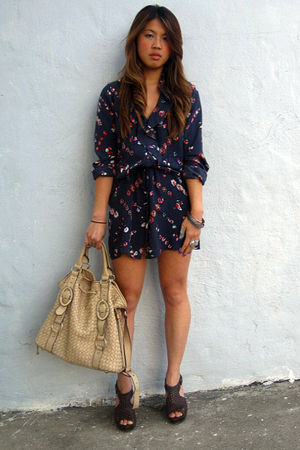 Rebecca Taylor dress - sam edelman shoes - Reiss purse - Ambiance boutique brace