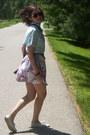 Beige-keds-shoes-brown-coach-bag-light-blue-thrifted-vintage-blouse-off-wh