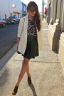 Brown-forever-21-shoes-white-silence-noise-blazer-navy-h-m-shirt