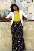 black floral palazzo GEEKS & STITCHES pants