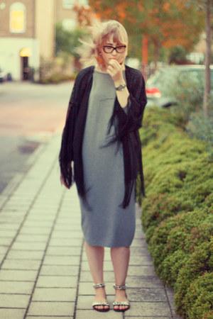 silver H&M dress