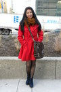 Navy-corduroy-cooperative-boots-red-wool-2b-bebe-coat
