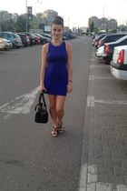 navy H&M dress