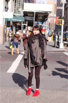 bobby Isabel Marant sneakers - paco coat Isabel Marant coat - Uniqlo jeans