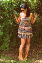 Forever 21 dress - nana boots