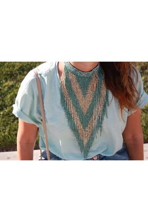 Primark t-shirt - Zara skirt - dior glasses
