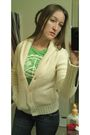 Beige-american-eagle-sweater-green-american-eagle-shirt-blue-american-eagle-