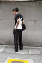 Raf Simons t-shirt - Raf Simons x Just In Case pants - raf by raf simons shoes -