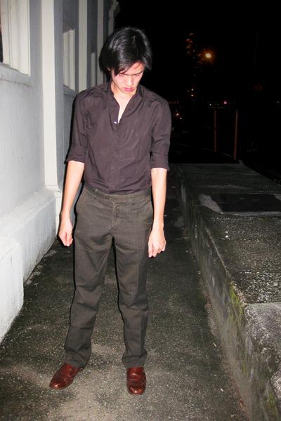 08feb1832b Men's Zara Shirts, Massimo Dutti Pants, Primavera Shoes |
