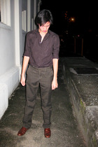 Zara shirt - Massimo Dutti pants - Primavera shoes