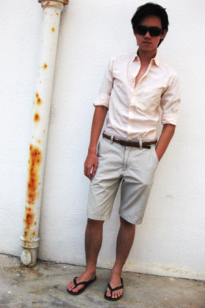 Zara shirt - Zara shorts - Padini shoes - H&M belt