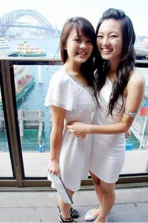 white Mirage dress - Wittner shoes