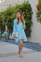 light blue OASAP dress