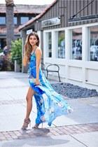 sky blue Yumi Kim dress