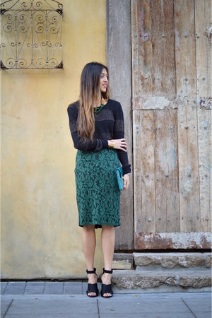 teal Tobi skirt