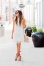 White-asos-dress