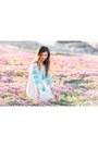 Light-blue-intermix-dress
