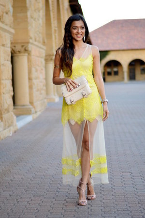 light yellow her Junction dress