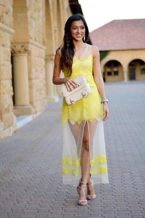light yellow her Junction dress