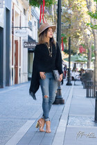 black OASAP sweater