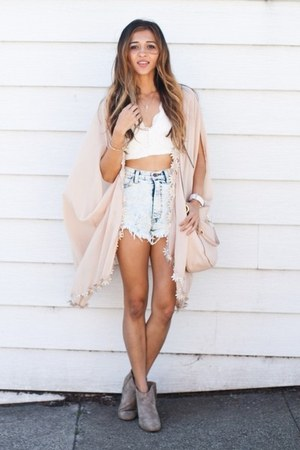 light blue Dailylook shorts