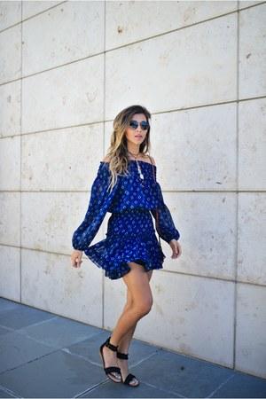 blue Misa Los Angeles dress