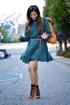 teal Lulus dress