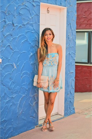blue Calypso St Barth dress