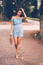 sky blue 6 Shore Road dress
