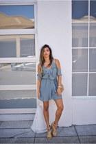 silver Shopbop dress