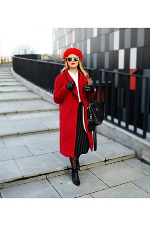 Mohito boots - romwe coat