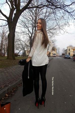 black milanoo heels