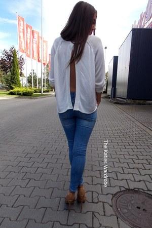 white Bik Bok sweater