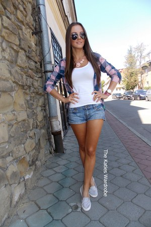 blue Only shorts