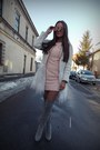 Light-pink-shein-dress