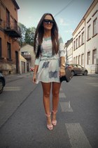 light pink asos dress