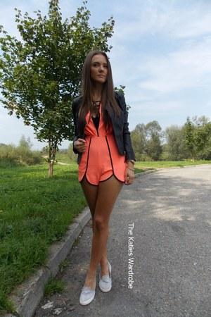 carrot orange choiescom bodysuit