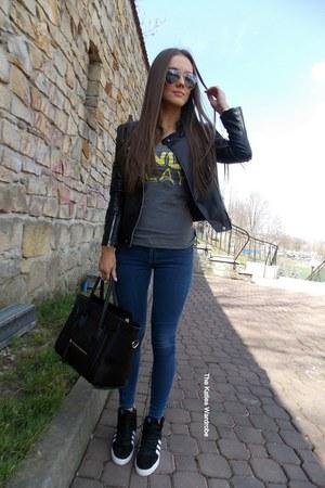 black Sheinsidecom jacket